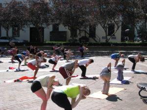Yoga at Fit in the Core