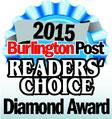 Burlington Readers' Choice Diamond Award 2015